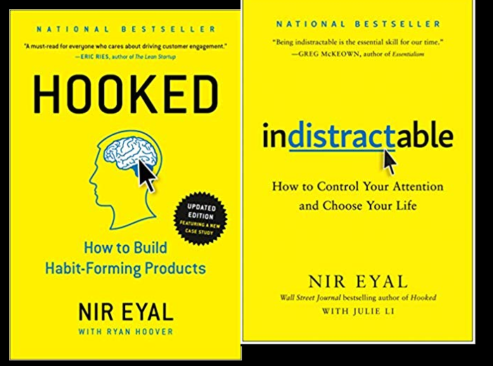 Book 13–14 Hooked and Indistractable by Nir Eyal - 100 books a ...